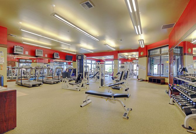 Shea Homes at Jubilee Fitness Center