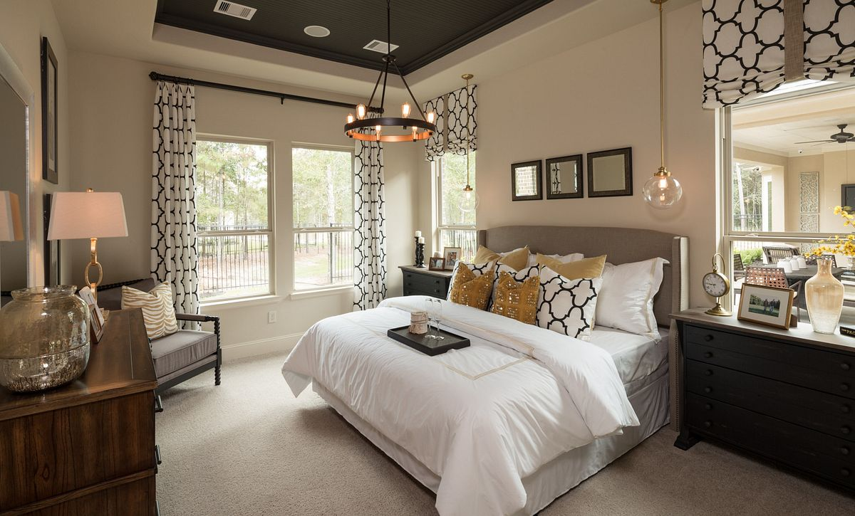 Master Bedroom Plan 4132