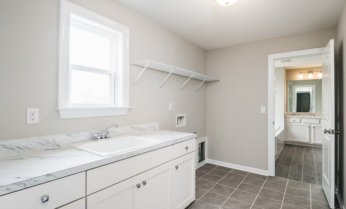 Weston Plan Laundry Room with options