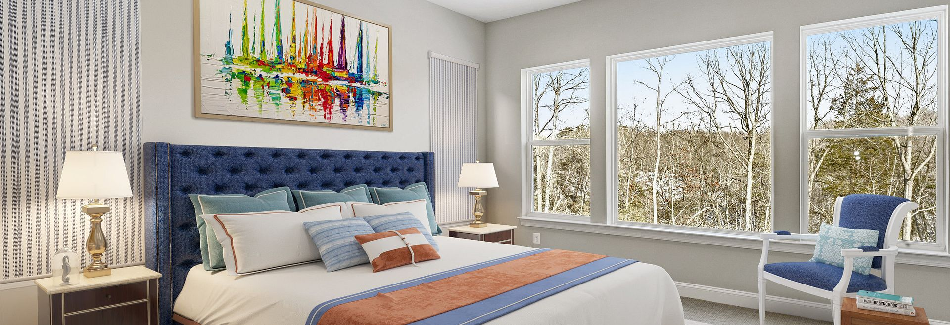 Trilogy at Lake Frederick Quick Move In Hensely Plan Master Bed