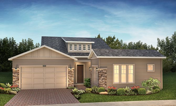 Imagine Plan Exterior A: Craftsman