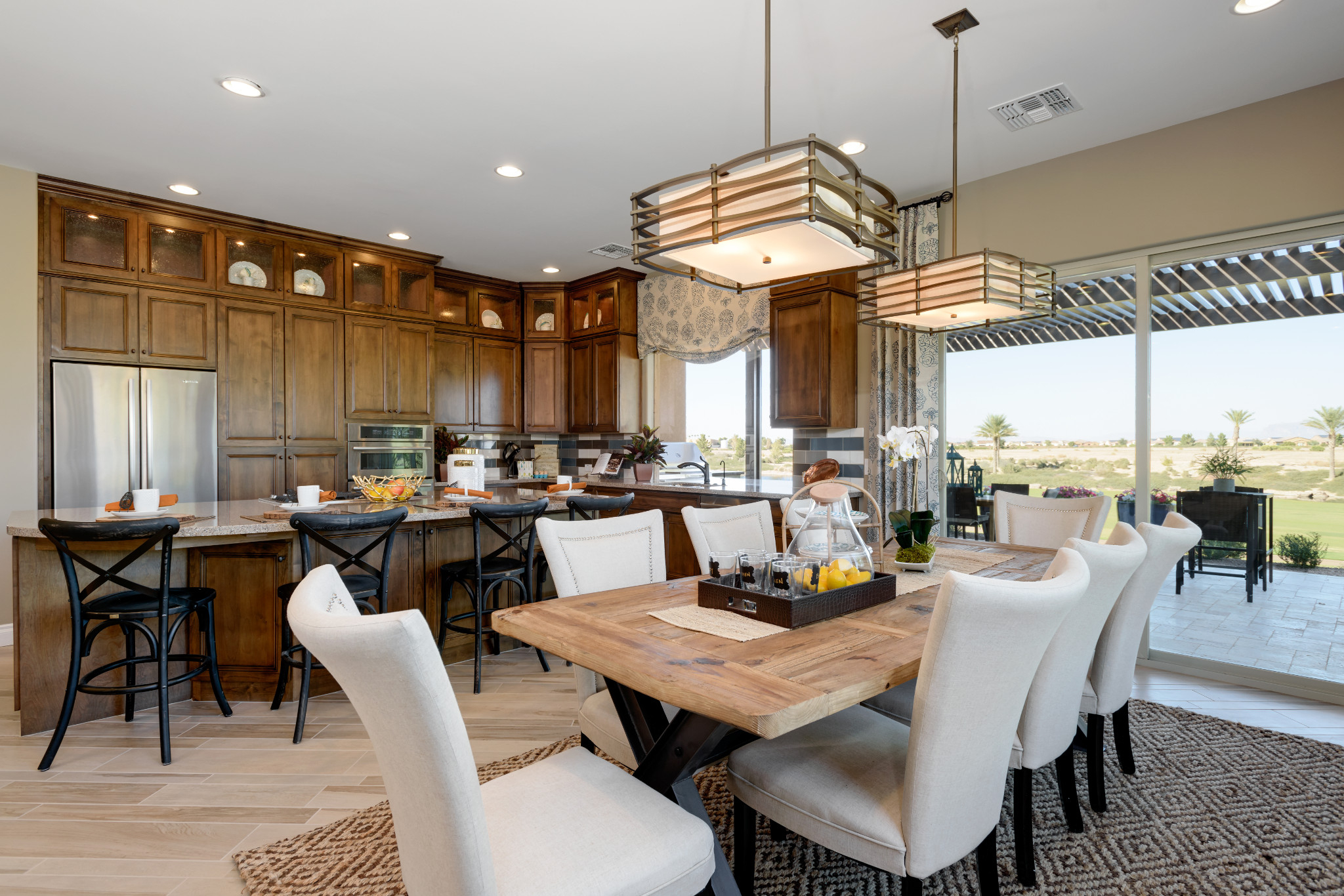 Captivate Model Dining Room