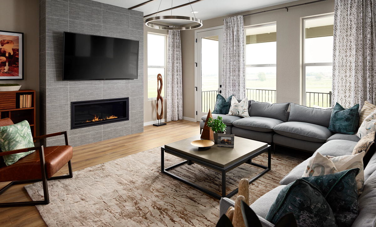 Stepping Stone Crescendo Plan 2201 Great Room
