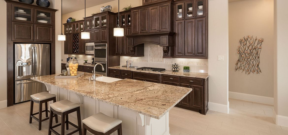 Cane Island Plan 6015 kitchen
