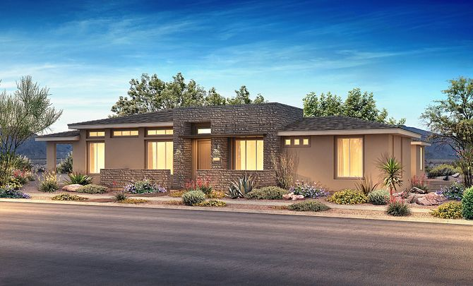 Trilogy in Summerlin Retreat Exterior A