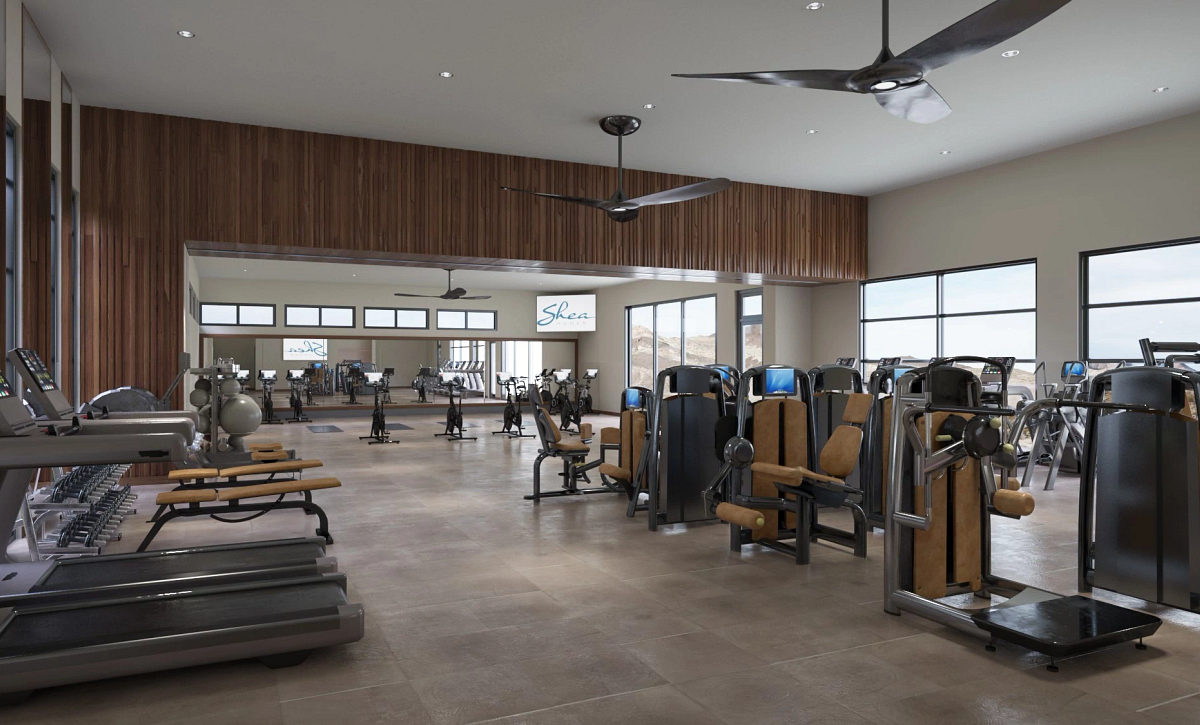 Trilogy Sunstone Afturburn Fitness & Movement Studio Rendering