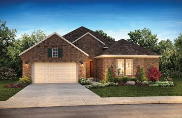 Plan 5144 Exterior C: French Country