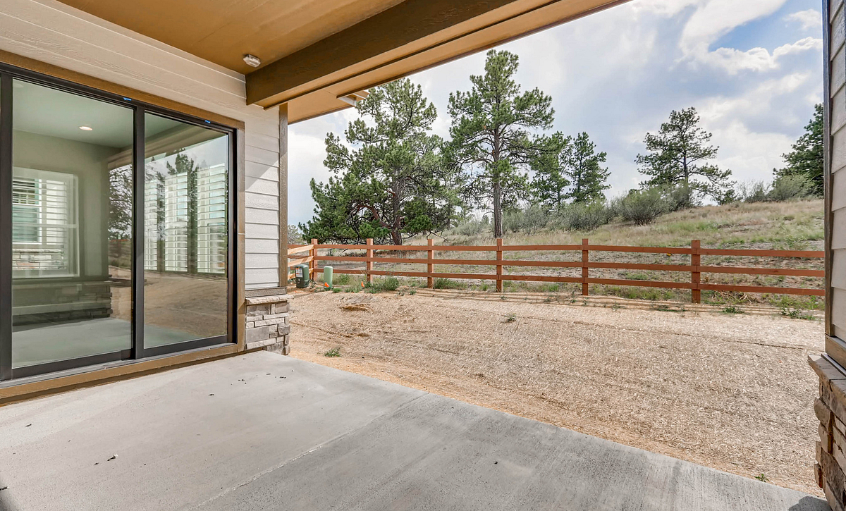 Whispering Pines Woodland Coulter Pine Covered Patio