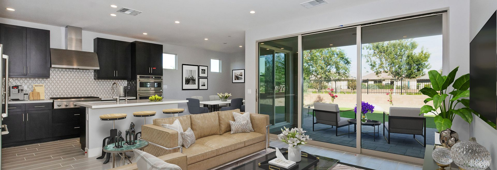 Trilogy Polo Club Unite Virtually Staged Great Room