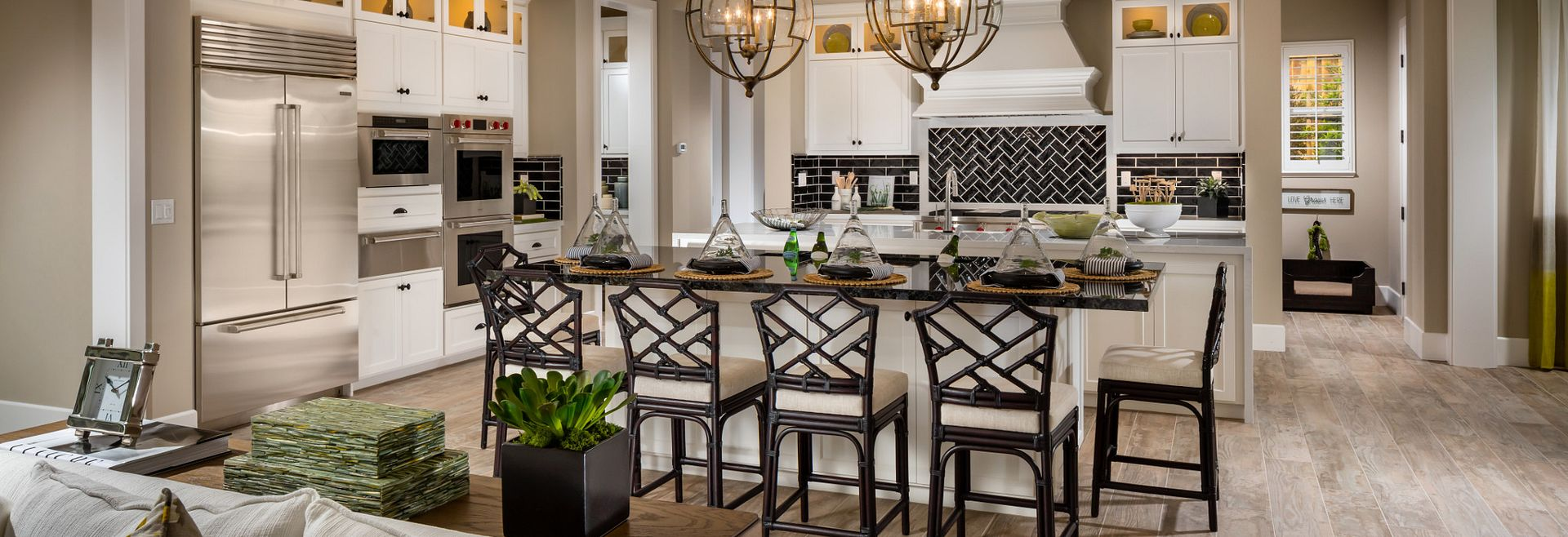 Vista Dorado Plan 3 Brentwood Dual-Island Two Island Kitchen