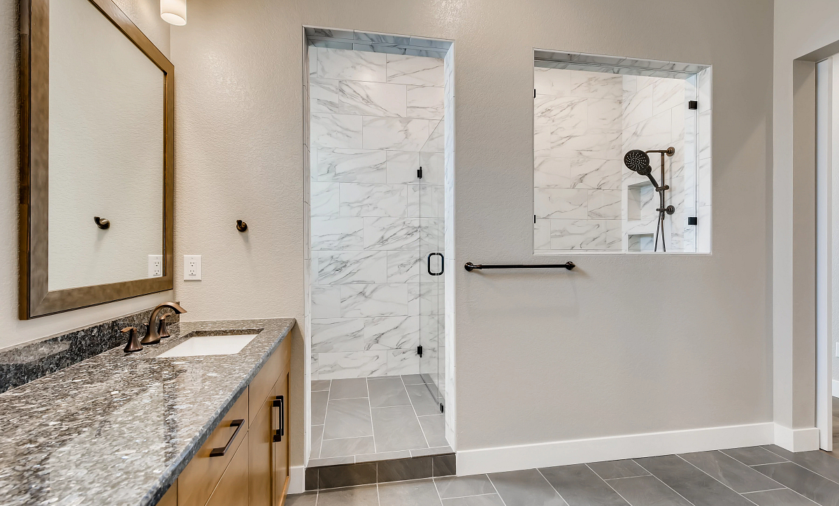 Canyons Retreat Heirloom Primary Shower