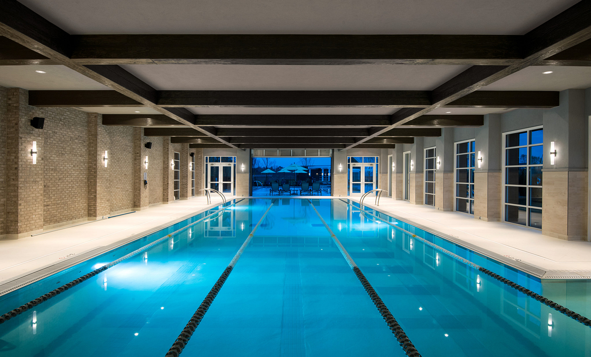 Trilogy Lake Norman Club: Indoor Lap Pool