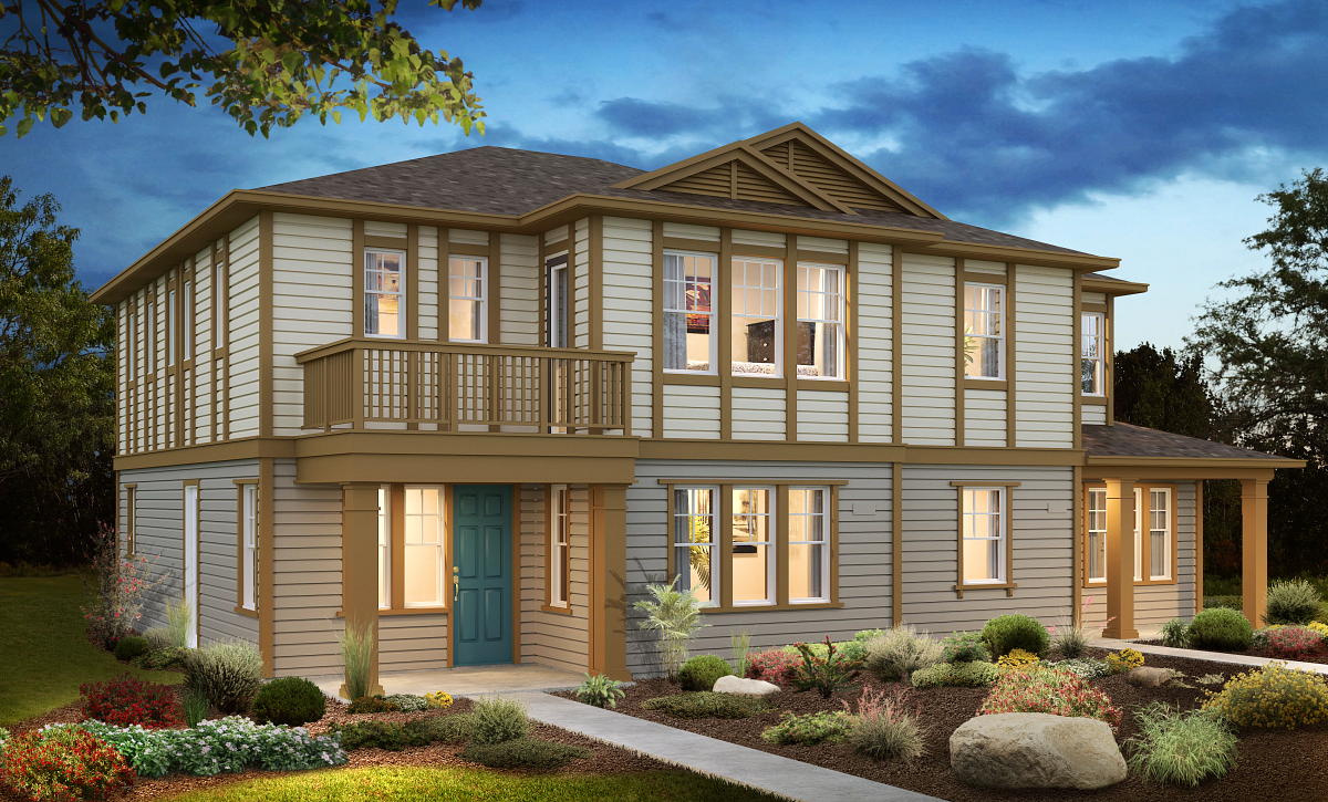 Sea House Plans 3 & 1 Elevation A