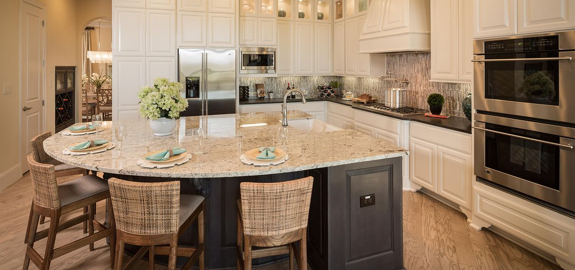 The Woodlands Plan 5023 kitchen