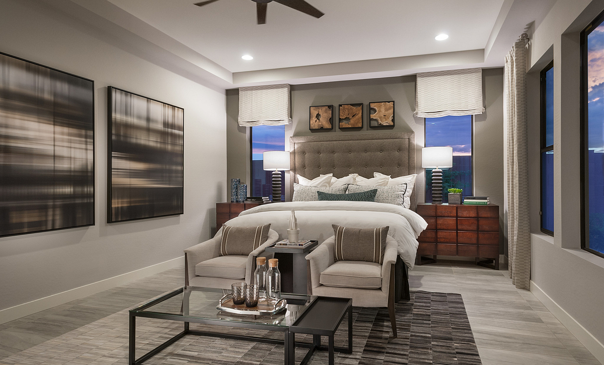 Evolve at Cantilena Renew Plan 5582 Master Suite