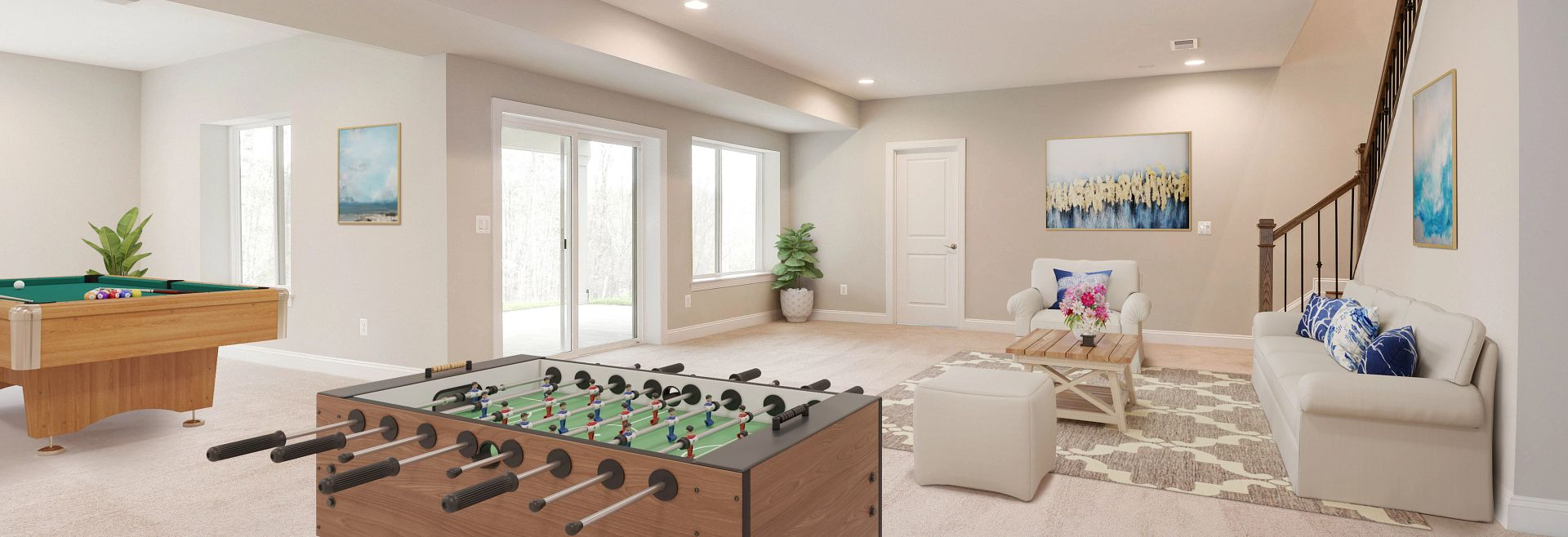 Trilogy at Lake Frederick Quick Move In Home Henley Plan Virtually Staged
