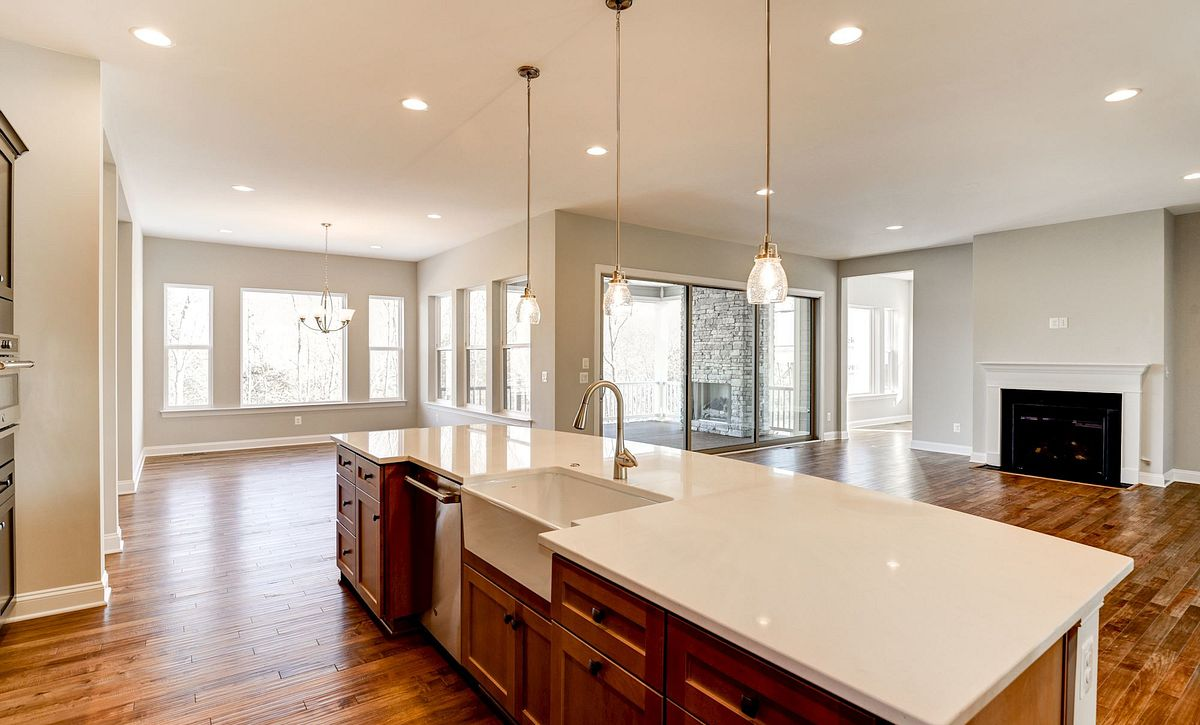 Trilogy at Lake Frederick Hensely Plan Quick Move In Kitchen
