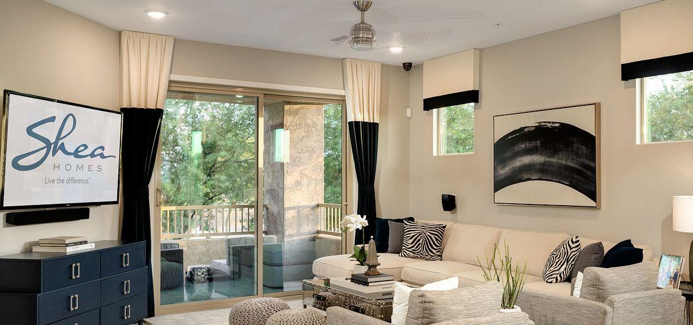 Carino Villas Plan Loft Nineteen35 Great Room