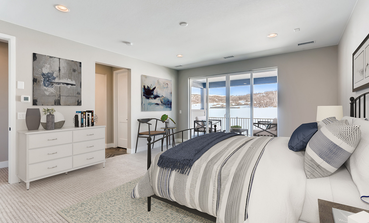 Canyons Luxe Weston Master Bedroom