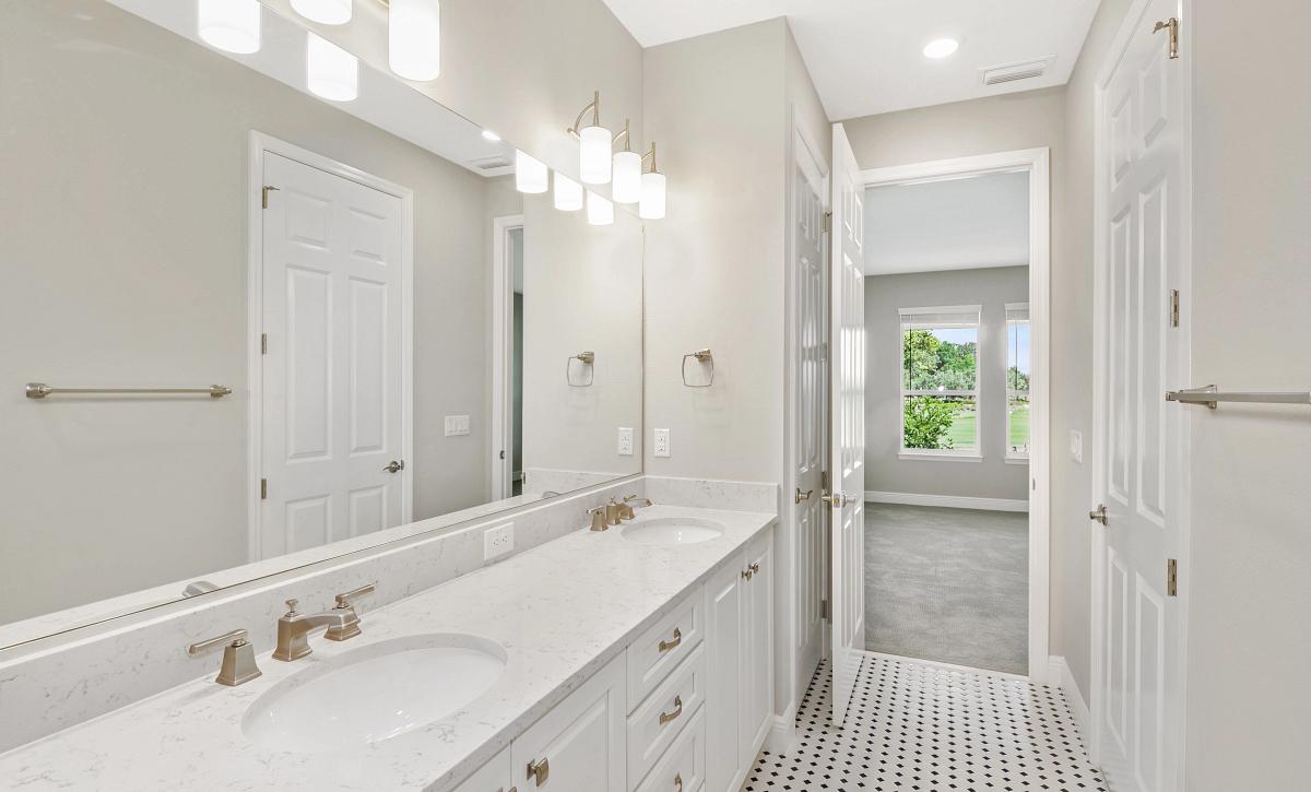 Trilogy at Ocala Preserve Quick Move-In Home Liberty Plan Homesite 163 Master Bath