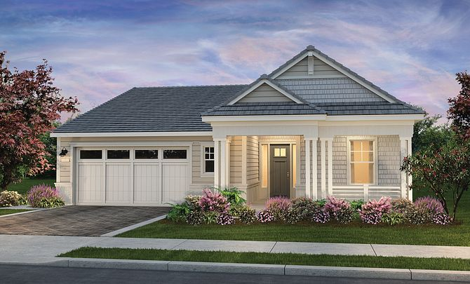 Harmony Plan Exterior B: Coastal Cottage