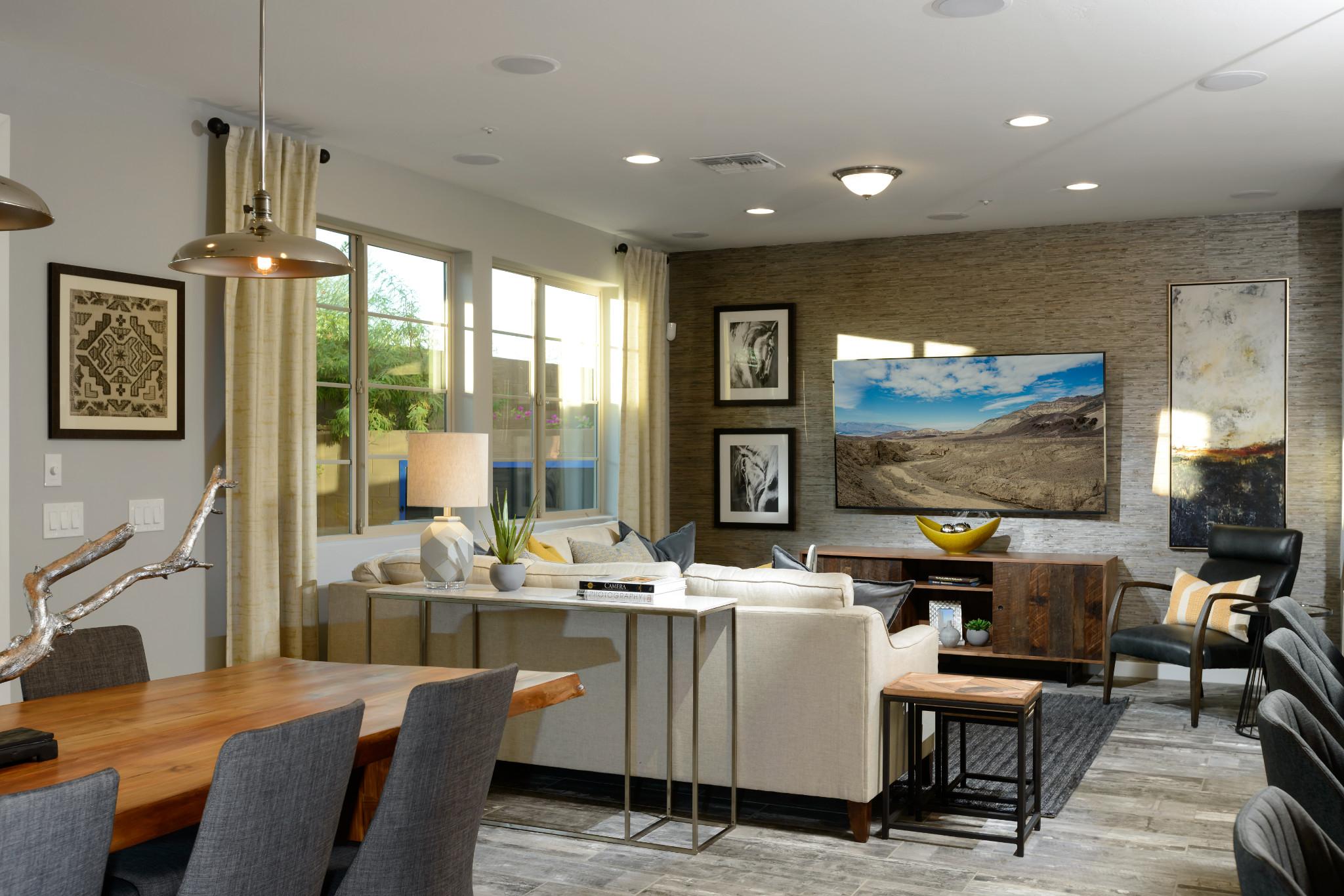 24 North 1003 Polaris Plan Living Room