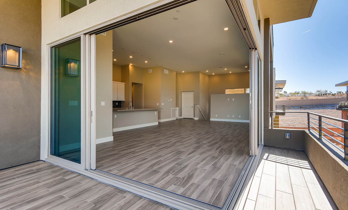 Trilogy Summerlin Apex Outdoor Deck