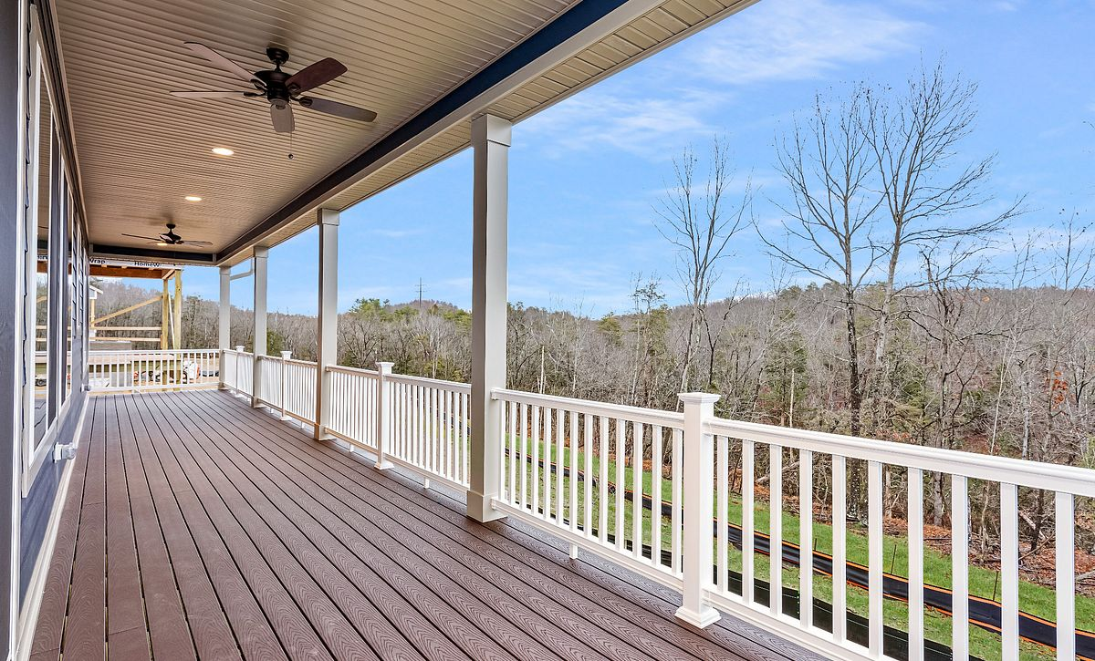 Trilogy at Lake Frederick Quick Move In Home Evoke Plan Covered Patio