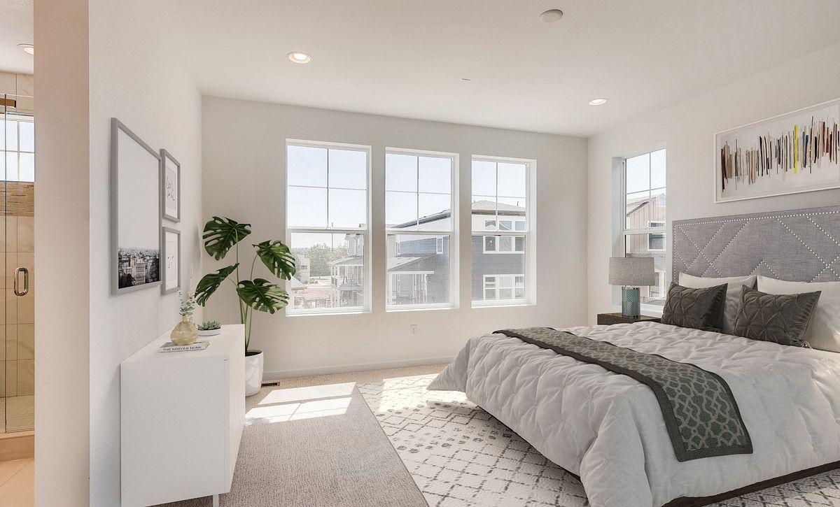 Crescendo Central Park Plan 2202 QMI Lot 55 Master Bedroom