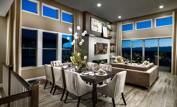 BackCountry Painted Sky Stargazer Dining and Great Room