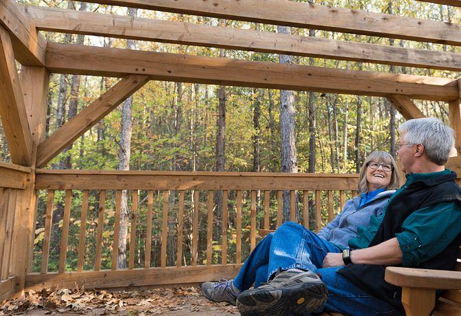 Trilogy Lake Norman Carolina Treehouse Couple