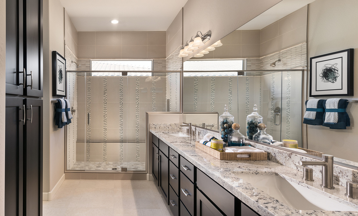 Concentric Model Master Bath