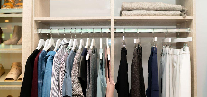 KonMari Closet Arrangment