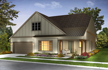 Ascend Exterior B: Contemporary Ranch