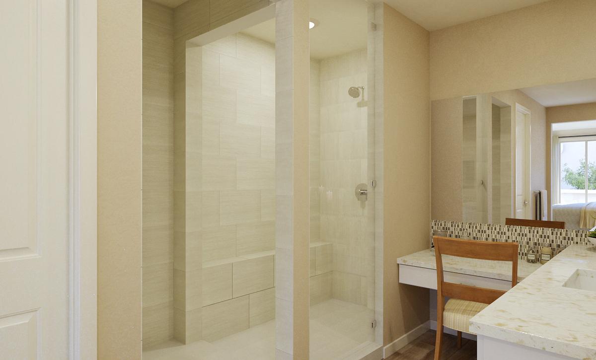 Trilogy Summerlin Explore Master Bath Rendering