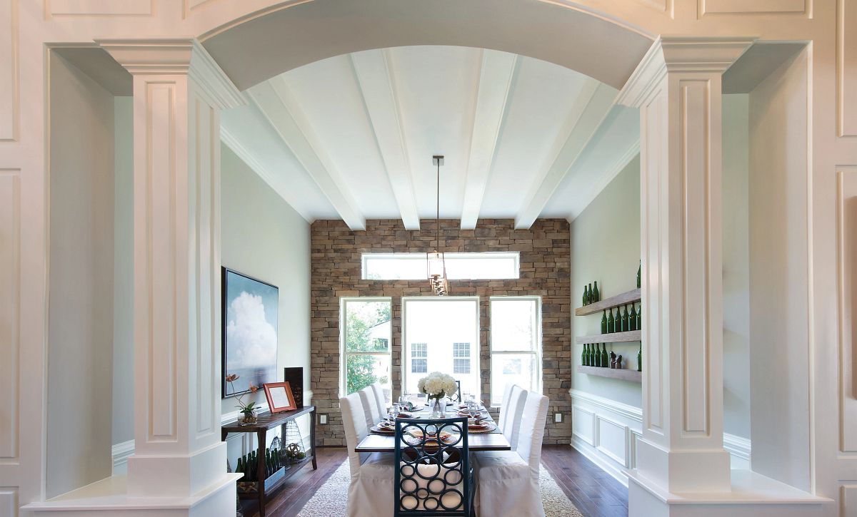 Dining Room with beams (example image)
