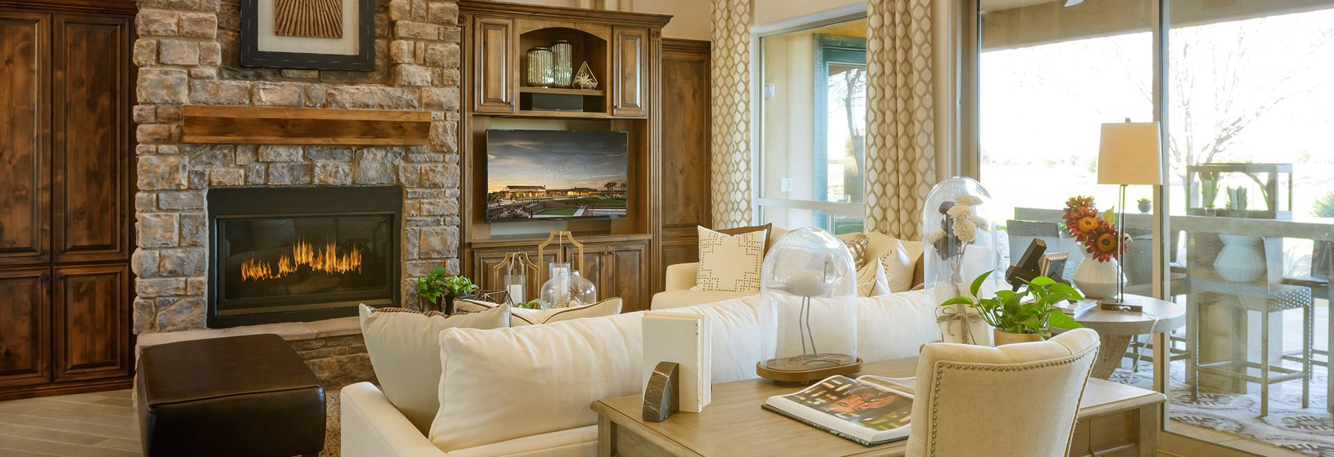 Encanterra Plan Alicante Living Room
