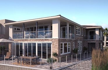 Ocean Place Plan 7 Prairie Exterior Elevation