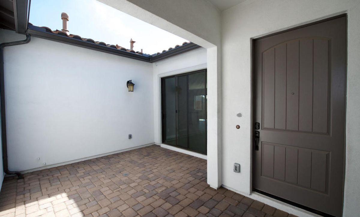 Origin Homesite 274 Front Courtyard