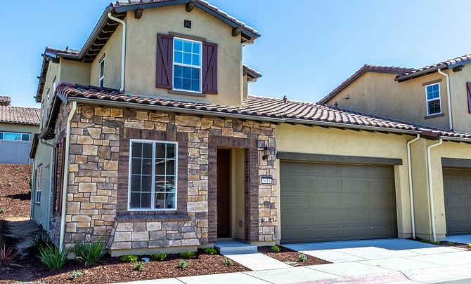 Shea Homes Rice Ranch Sage Exterior