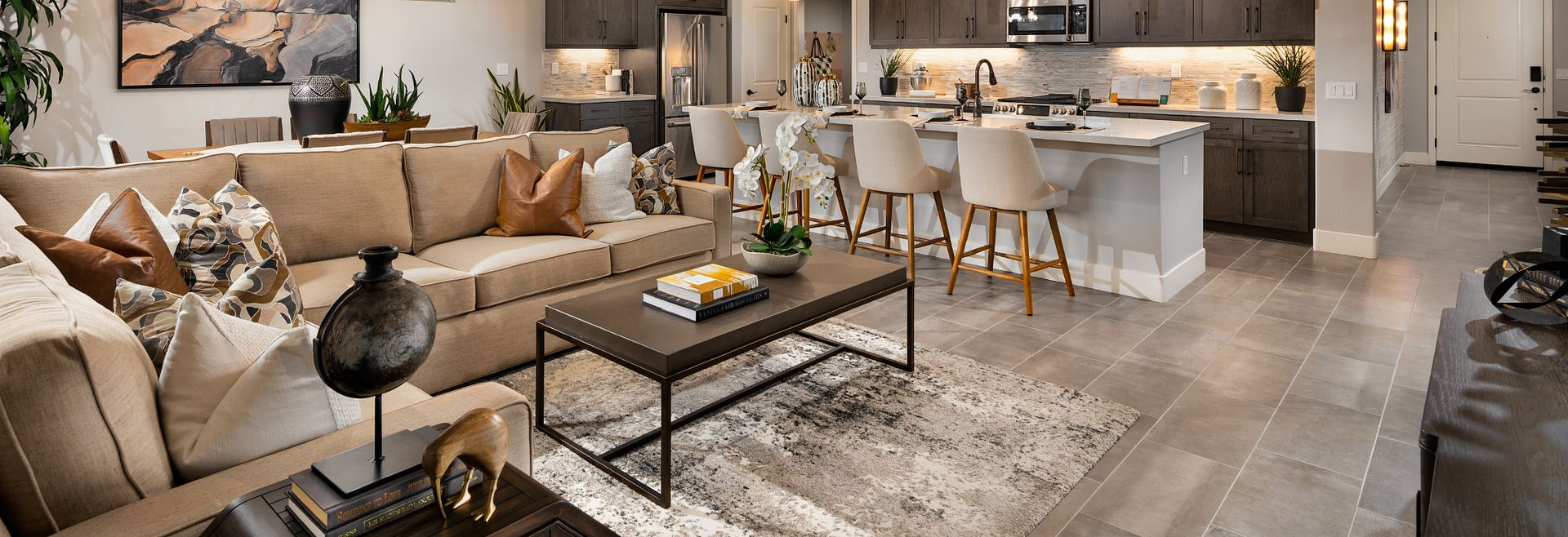 Trilogy at the Polo Club Connect Model Home
