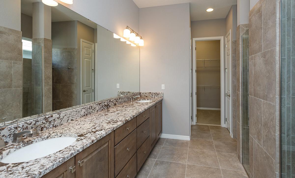 Trilogy Orlando Quick Move In Home Imagine Plan Master Bath