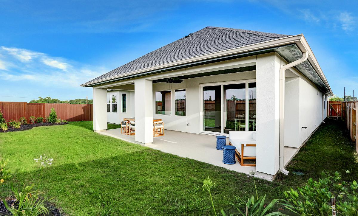 Plan 5029 Outdoor Living