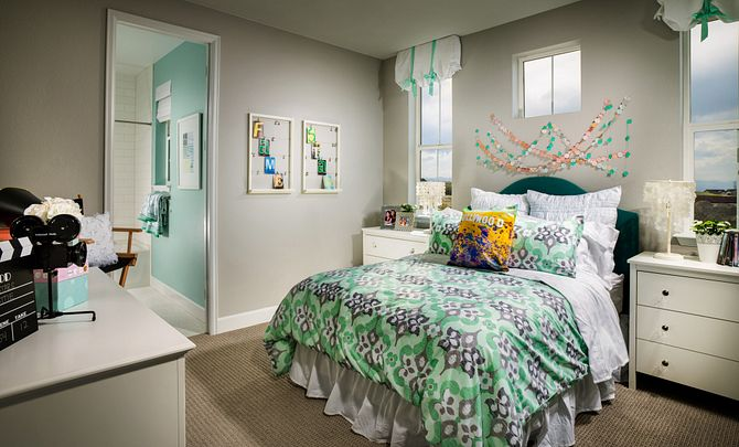 Whispering Pines Woodlands Bristlecone Girls Bedroom