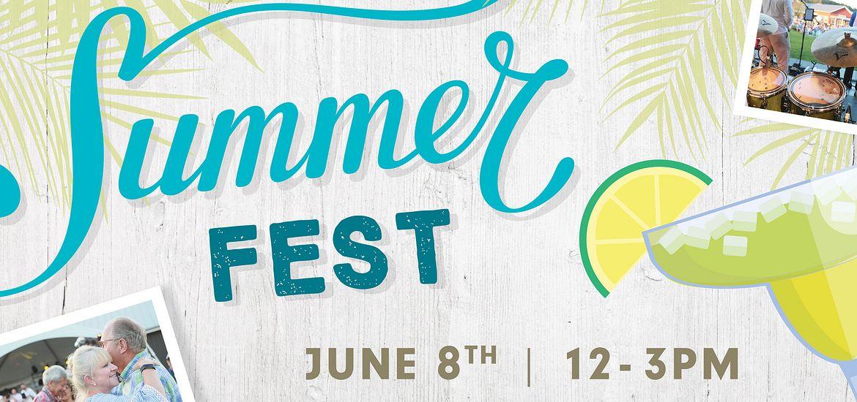 Flyer for SummerFest Event