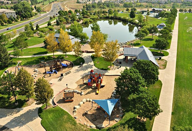 Highlands Ranch Community Parks Red Stone Park