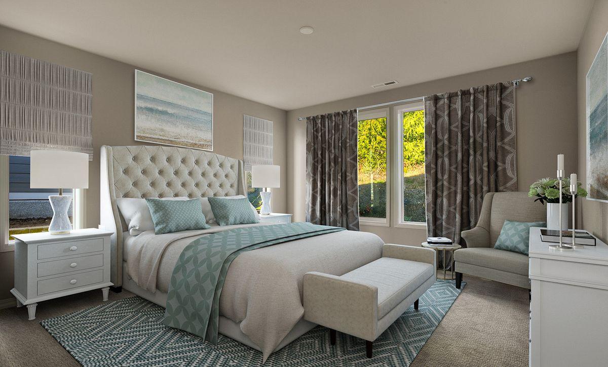 Trilogy Tehaleh Lot 4005 Master Bedroom