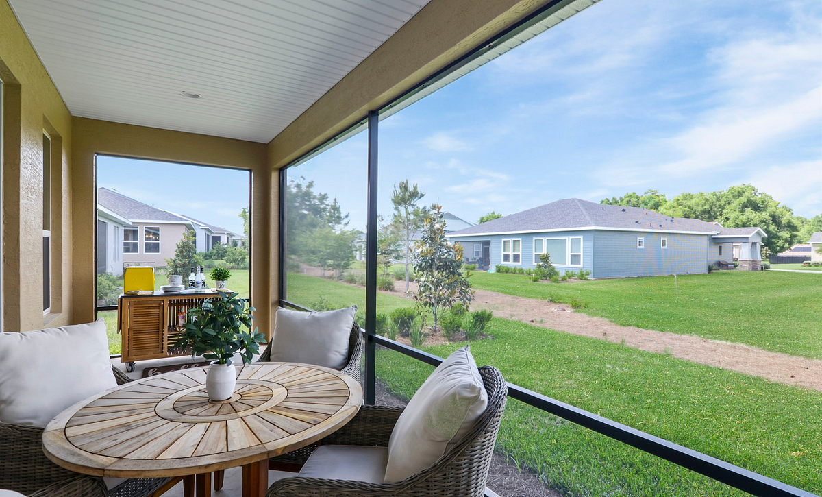 Trilogy at Ocala Preserve Declare Covered Patio