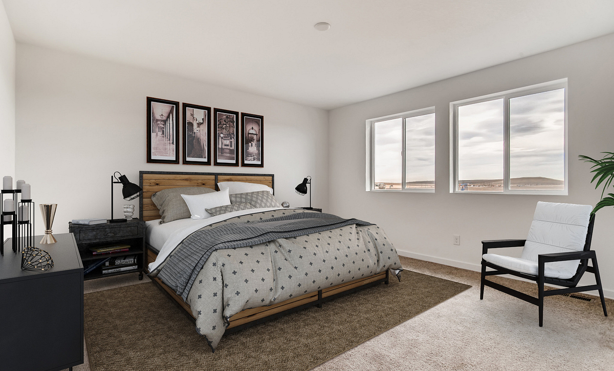 SPACES Reunion Plan 3506 Master Bed