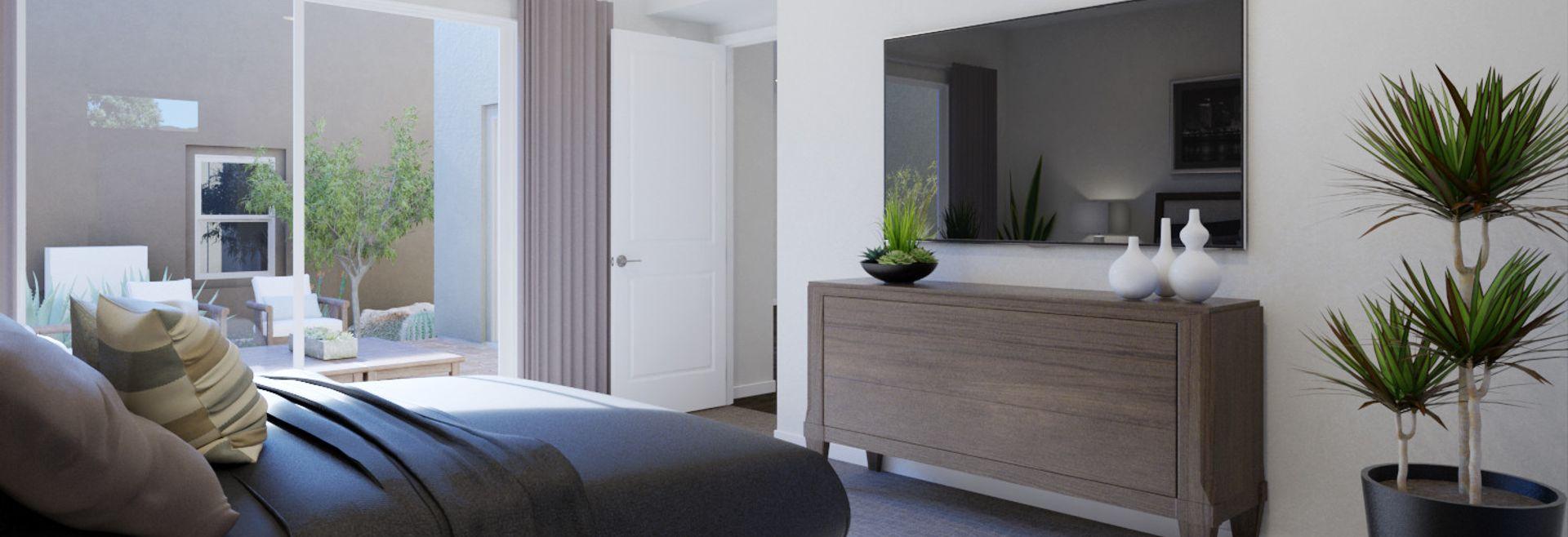 Trilogy Summerlin Luminous Master Bedroom